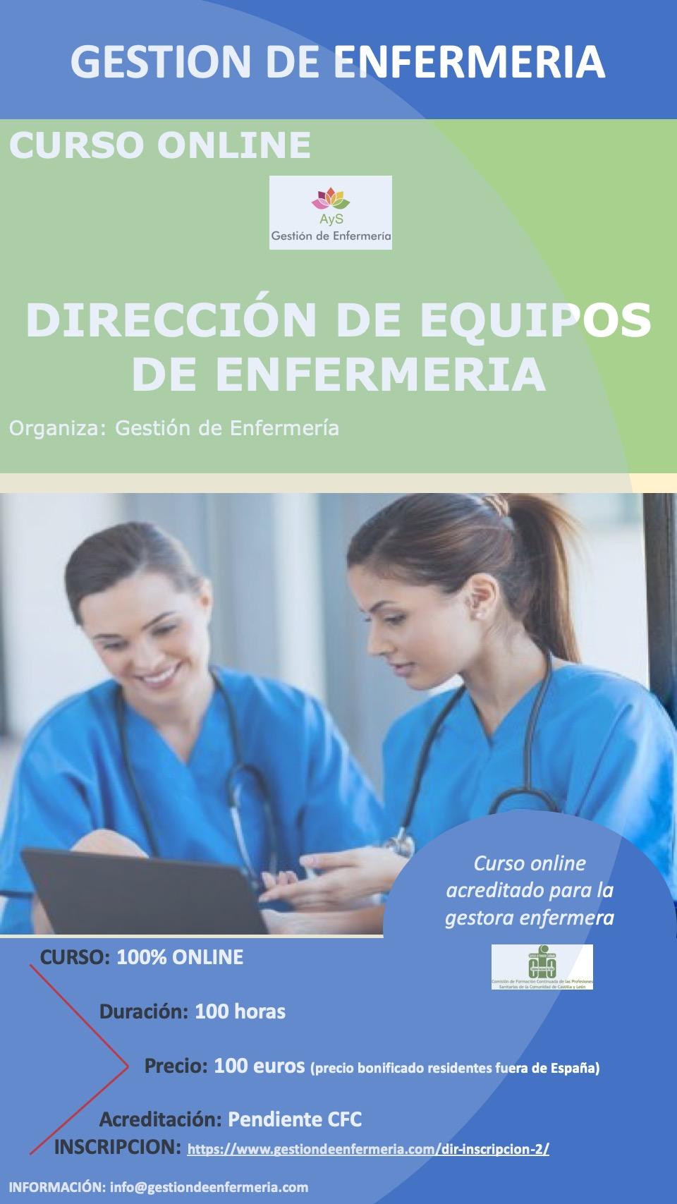 Dirección de Equipos de Enfermería